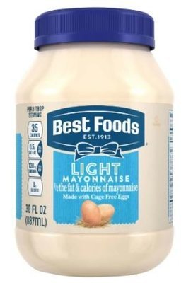 Light Mayonnaise, Best Foods® Light Mayo (30 oz Jar)