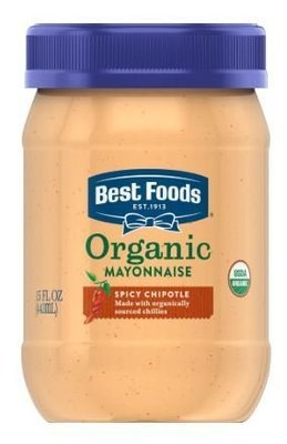 Organic Mayonnaise, Best Foods® Organic Chipotle Mayonnaise (15 oz Jar)