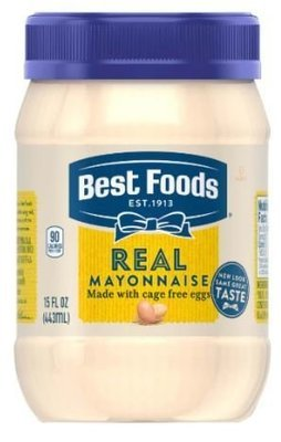 Mayonnaise, Best Foods® Real Mayonnaise (15 oz Jar)