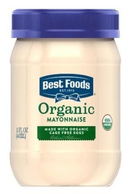 Organic Mayonnaise, Best Foods® Organic Mayonnaise (15 oz Jar)