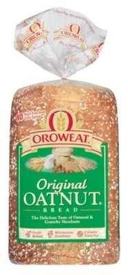 Loaf Bread, Oroweat® Oatnut Bread (24 oz Bag)