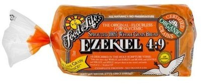 Loaf Bread, Food for Life® Ezekiel 4:9® Sprouted 100% Whole Grain Bread (24 oz Bag)
