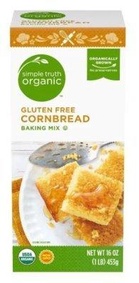 Organic Corn Bread Mix, Simple Truth Organic™ Gluten Free Corn Bread Mix (16 oz Box)