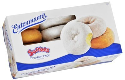 Donuts, Entenmann's® Softees Variety Donuts (12 Count, 8.5 oz Box)