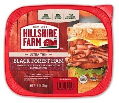 Sandwich Meat, Hillshire Farm® Black Forest Ham (9 oz Resealable Tray)