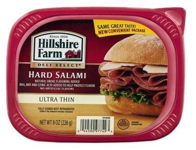 Sandwich Meat, Hillshire Farm® Hard Salami (7 oz Resealable Tray)