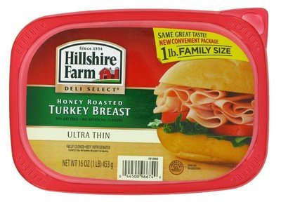 Turkey Deli Meat, Hillshire Farm® Honey Roasted Turkey (16 oz Resealable Tray)