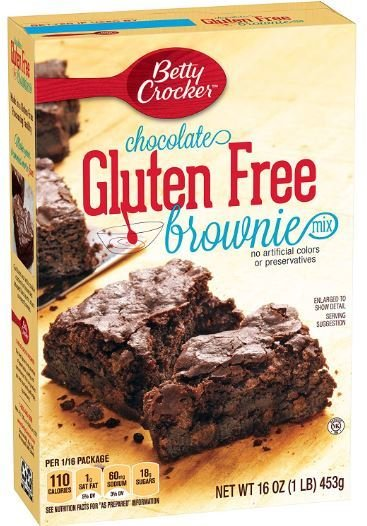 Brownie Mix, Betty Crocker® Chocolate Gluten Free Brownie Mix (16 oz Box)