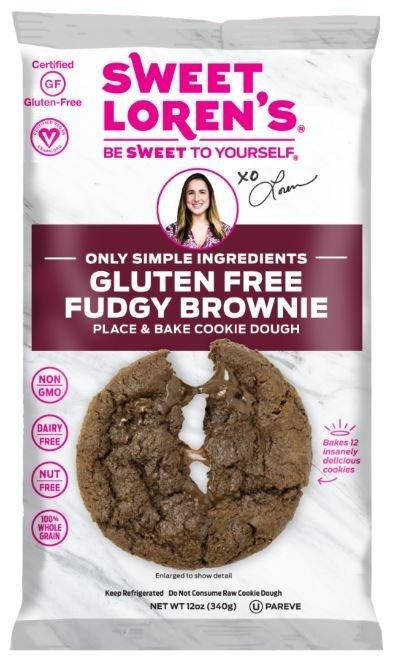 Cookie Dough, Sweet Loren's® Gluten Free Fudgy Brownie Cookie Dough (12 oz Bag)