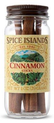 Seasonings, Spice Islands® Cinnamon Sticks (1 oz Jar)