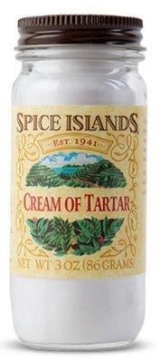 Seasonings, Spice Islands® Cream of Tartar (3 oz Jar)