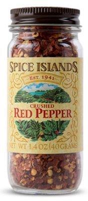 Seasonings, Spice Islands® Crushed Red Pepper (1.4 oz Jar)
