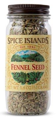 Seasonings, Spice Islands® Fennel Seed (1.8 oz Jar)