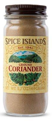 Seasonings, Spice Islands® Ground Coriander (1.7 oz Jar)