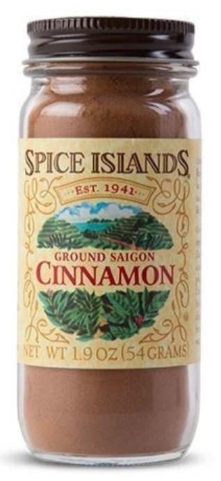 Seasonings, Spice Islands® Ground Saigon Cinnamon (1.9 oz Jar)