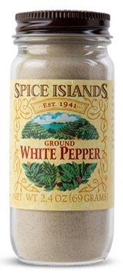 Seasonings, Spice Islands® Ground White Pepper (2.4 oz Jar)