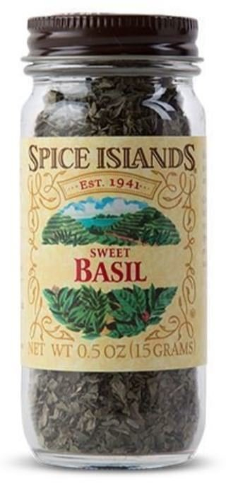 Seasonings, Spice Islands® Sweet Basil (0.5 oz Jar)