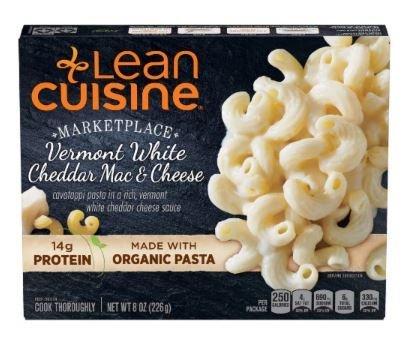 Frozen Dinner, Lean Cuisine® Marketplace™ Vermont White Cheddar Mac & Cheese (8 oz Box)