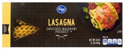 Lasagna Pasta, Kroger® Lasagna Pasta (16 oz Box)