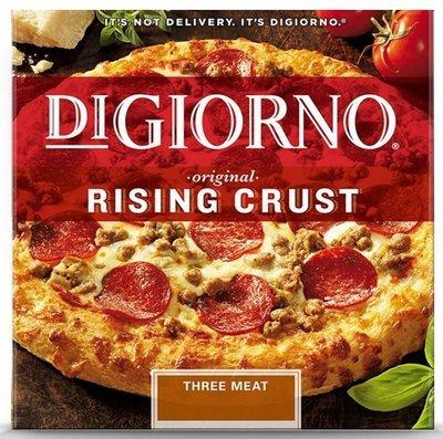 Frozen Pizza, Digiorno® Rising Crust Three Meat Pizza (29.8 ox Box)