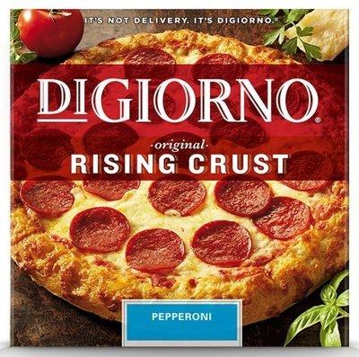Frozen Pizza, Digiorno® Rising Crust Pepperoni Pizza (27.5 oz Box)