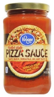Pizza Sauce, Kroger® Parlor Style Pizza Sauce (14 oz Jar)