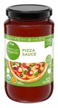 Pizza Sauce, Simple Truth Organic™ Pizza Sauce (14 oz Jar)