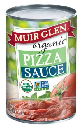 Pizza Sauce, Muir Glen® Organic Pizza Sauce (15 oz Can)