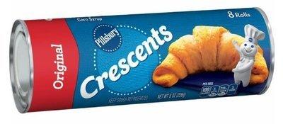 Crescent Roll Dough, Pillsbury® Original Crescent Dinner Rolls (8 oz Tube)