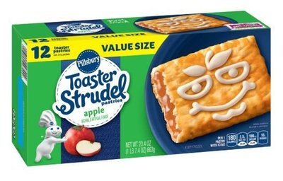 Strudel, Pillsbury® Apple Toaster Strudel (12 count, 23.4 oz Box)