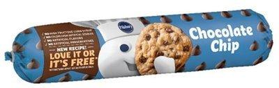 Cookie Dough, Pillsbury® Chocolate Chip Cookie Dough (16.5 oz Tube)