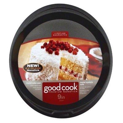 Cake Pan, Good Cook® Nonstick Round Cake Pan (9