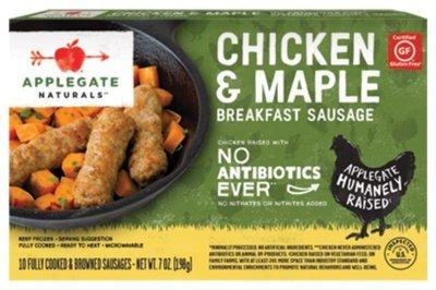 Frozen Sausage Links, Applegate Farms® Chicken & Maple Sausage Links (7 oz Box)