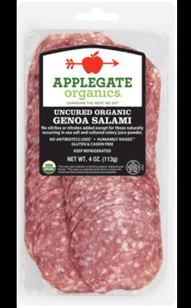 Deli Meat, Applegate Farms® Genoa Salami (4 oz Resealable Bag)