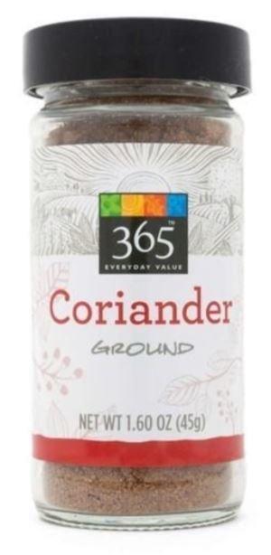 Seasonings, 365® Coriander (1.6 oz Jar)