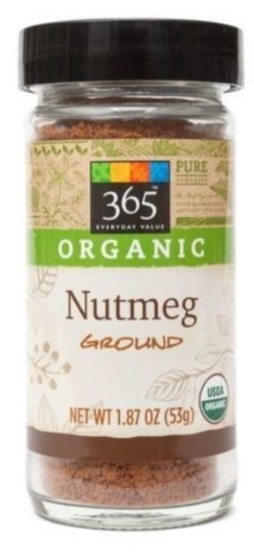 Organic Seasonings, 365® Organic Nutmeg (1.87 oz Jar)
