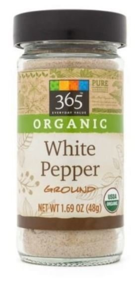 Organic Seasonings, 365® Organic White Pepper (1.69 oz Jar)