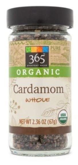 Organic Seasonings, 365® Organic Cardamom (2.36 oz Jar)