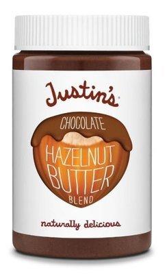Hazelnut Butter, Justin's® Chocolate Hazelnut Butter (16 oz Jar)