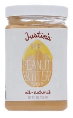 Peanut Butter, Justin's® Honey Peanut Butter (16 oz Jar)
