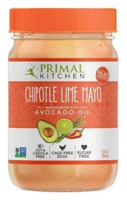 Avocado Mayonnaise, Primal Kitchen® Avocado Oil Chipotle Lime Mayo (12 oz Jar)