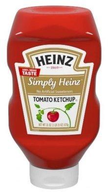 Ketchup, Heinz® Simply Heinz™ Tomato Ketchup (31 oz Bottle)
