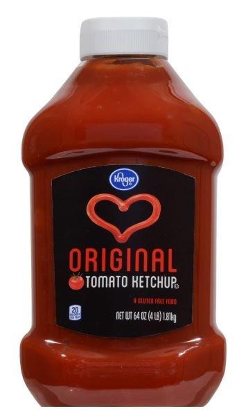 Ketchup, Kroger® Tomato Ketchup (64 oz Bottle)