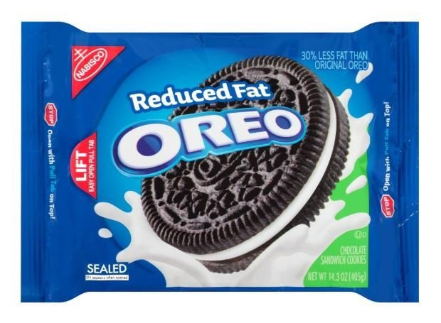Sandwich Cookies, Nabisco® Oreo Reduced Fat® Sandwich Cookies (14.3 oz Bag)