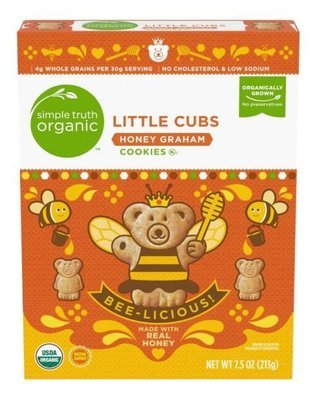 Cookies, Simple Truth Organic™ Little Cubs Honey Graham Cookies (7.5 oz Box)