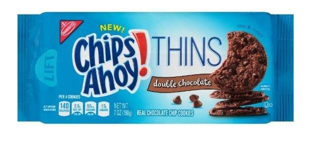 Cookies, Nabisco® Chips Ahoy® Thins Chocolate Cookies (7 oz Bag)