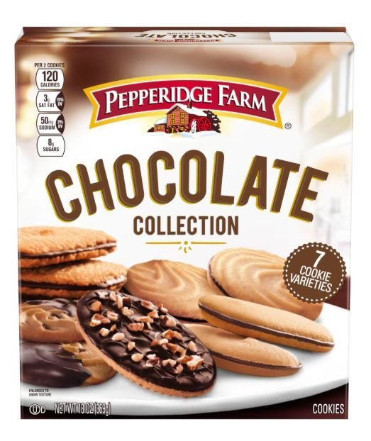 Cookies, Pepperidge Farm® Chocolate Collection™ Cookies (13 oz Box)