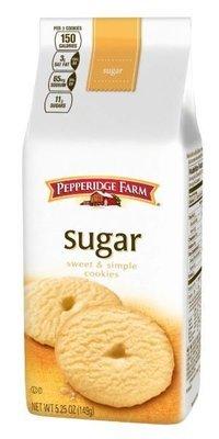 Cookies, Pepperidge Farm® Sweet & Simple™ Sugar Cookies (5.25 oz Bag)