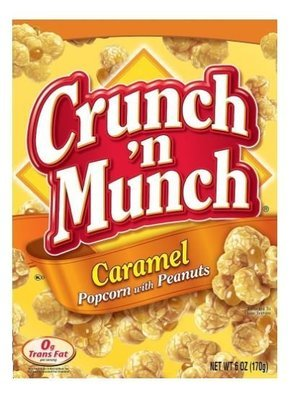 Popcorn, Crunch 'N Munch® Gourmet Caramel Popcorn (6 oz Box)