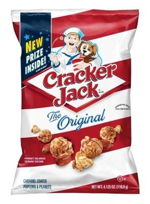 Popcorn, Cracker Jack® The Original Caramel Corn Popcorn (4.13 oz Bag)
